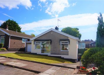 Thumbnail 3 bed detached bungalow for sale in Sunningdale Close, Cardiff
