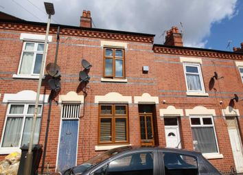 Thumbnail 4 bed terraced house for sale in Fairfield Street, Leicester