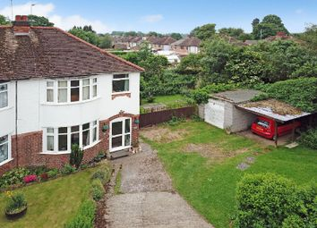 Thumbnail 3 bed semi-detached house for sale in The Twitten, Glen Parva, Leicester