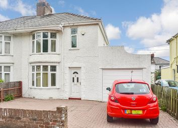 Thumbnail 2 bed semi-detached house for sale in Tynton Road, Bridgend