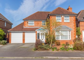 Thumbnail 4 bed detached house for sale in Drake Avenue, Stafford