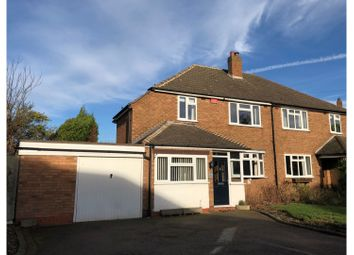 Thumbnail 3 bed semi-detached house to rent in Mayall Drive, Sutton Coldfield