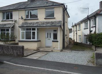 Thumbnail 3 bed end terrace house to rent in Priory Park Road, Launceston, Cornwall