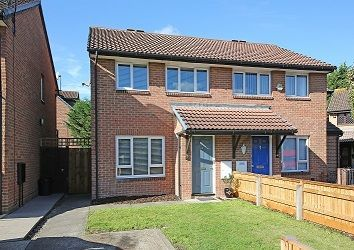 Thumbnail 3 bed semi-detached house for sale in Landseer Close, Colliers Wood, London