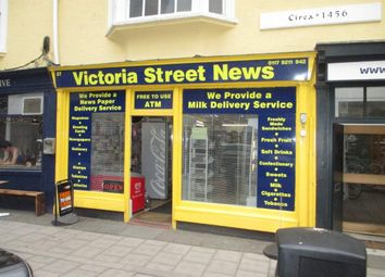 Thumbnail Retail premises for sale in Victoria Street, Redcliffe, Bristol