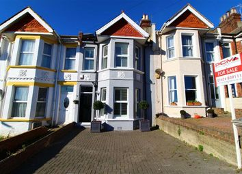 Thumbnail 4 bed terraced house for sale in Edmund Road, Hastings, East Sussex