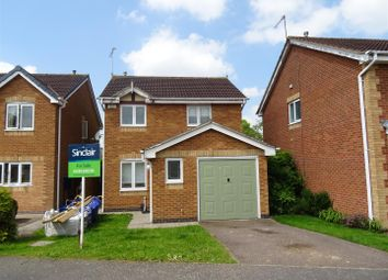 Thumbnail 3 bed detached house for sale in Kemp Road, Coalville, Leicestershire
