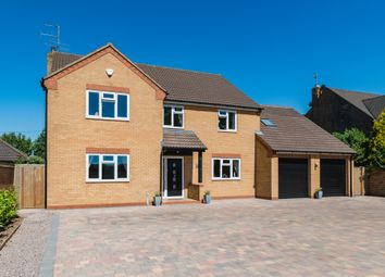 Thumbnail 4 bed detached house for sale in Lincoln Road, Deeping Gate, Peterborough