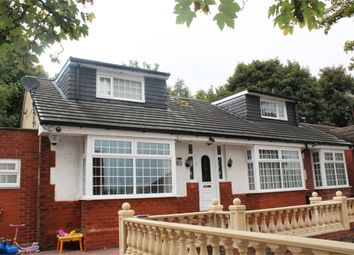 Thumbnail 5 bed detached bungalow for sale in Manor Road, Oldham, Lancashire