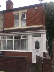 Thumbnail 3 bedroom end terrace house to rent in Floyer Road, Birmingham