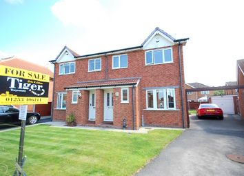 Thumbnail 3 bedroom semi-detached house for sale in Roxburgh Road, Blackpool