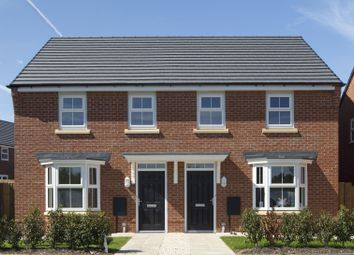 "Thumbnail 3 bed semi-detached house for sale in ""Washford"" at Bearscroft Lane, London Road, Godmanchester, Huntingdon"