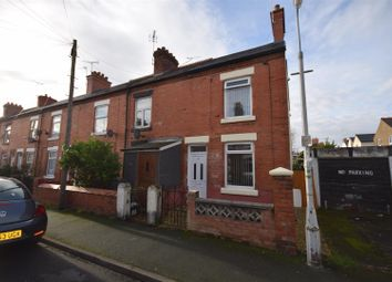 Thumbnail 2 bed end terrace house for sale in Princess Street, Wrexham