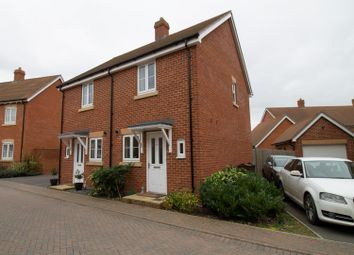 Thumbnail 2 bed semi-detached house for sale in Hodinott Close, Romsey