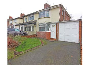 Thumbnail 3 bed semi-detached house for sale in Bryan Avenue, Wolverhampton