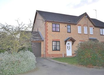 Thumbnail 3 bed end terrace house for sale in Barnet Close, Buckingham Fields, Northampton