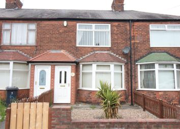 Thumbnail 2 bed terraced house for sale in Greystone Avenue, Hull