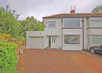 Thumbnail 3 bed semi-detached house for sale in Whitecroft Road, West Moor, Newcastle Upon Tyne