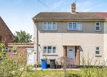 Thumbnail 2 bedroom semi-detached house for sale in Briarwood Road, Lowestoft