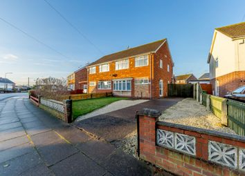 Thumbnail 3 bed semi-detached house for sale in Larmour Road, Grimsby, Lincolnshire