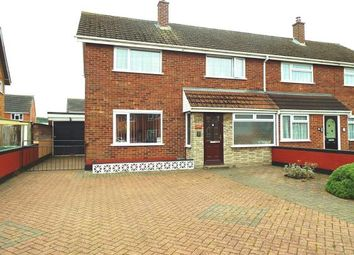 Thumbnail 3 bed semi-detached house for sale in Windermere Drive, Worcester, Worcestershire, Uk