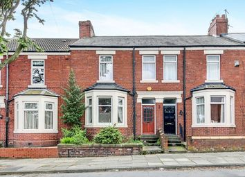 Thumbnail Terraced house for sale in Queen Alexandra Road West, North Shields