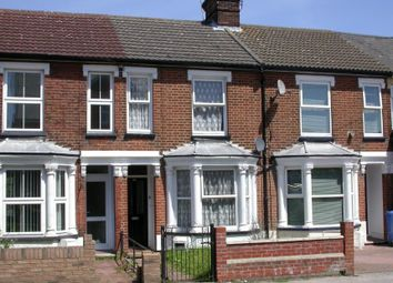 Thumbnail 3 bed terraced house for sale in 323 Foxhall Road, Ipswich, Suffolk