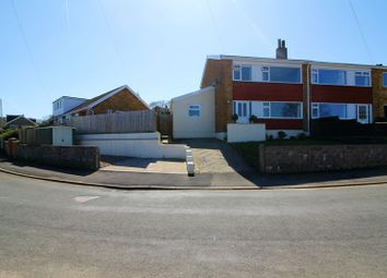 Thumbnail 3 bed semi-detached house for sale in Coed Isaf Road, Maesycoed, Pontypridd