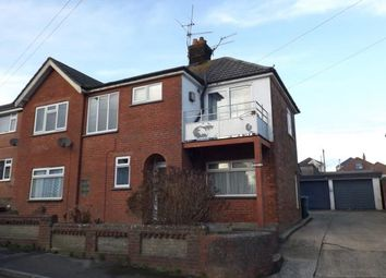Thumbnail 3 bedroom flat for sale in Phyldon Road, Parkstone, Poole