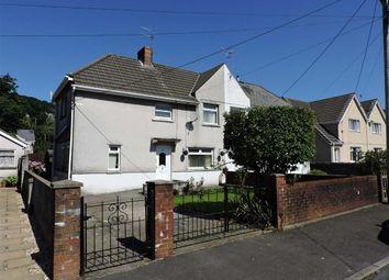Thumbnail 2 bedroom semi-detached house for sale in Wade Avenue, Ystalyfera, Swansea