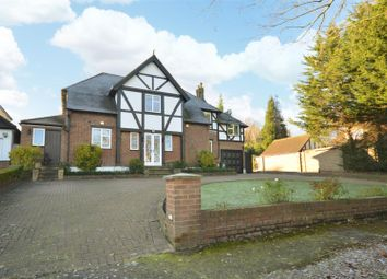 Thumbnail 6 bed detached house for sale in West Way, Carshalton
