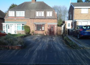 Thumbnail 4 bed semi-detached house to rent in Chattle Hill, Coleshill