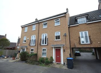Thumbnail 4 bed town house to rent in Spellow Close, Rugby