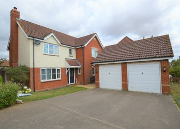 Thumbnail 4 bed detached house for sale in Mill Road, Kedington