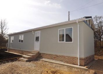 Thumbnail 2 bedroom mobile/park home for sale in The Grove, Huntingdon, Cambridgeshire