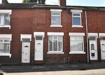 Thumbnail 2 bed terraced house for sale in Langley Street, Basford, Burslem, Staffs