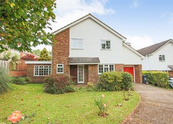 Thumbnail 4 bed detached house for sale in Lambourn Close, East Grinstead, West Sussex