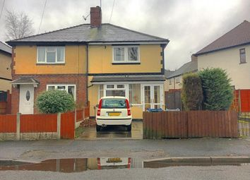 Thumbnail 3 bed semi-detached house for sale in Westbury Road, Wednesbury, West Midlands