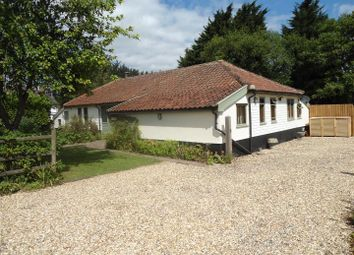 Thumbnail 4 bed detached bungalow for sale in Grove Lane, Elmswell, Bury St. Edmunds