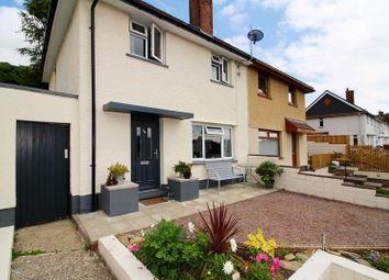 Thumbnail 2 bed semi-detached house for sale in Heol Mynydd, Cilfynydd, Pontypridd