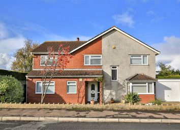 Thumbnail 4 bed detached house for sale in Nellive Park, St. Brides Wentlooge, Newport