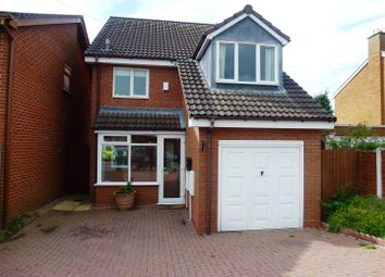 Thumbnail 3 bed detached house to rent in Melbourne Road, Bromsgrove, Worcestershire