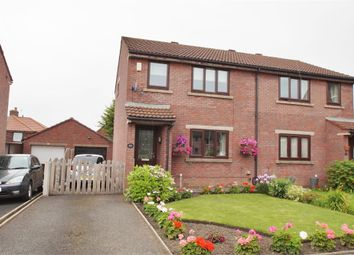 Thumbnail 3 bed semi-detached house for sale in Furze Street, Off Greystone Road, Carlisle, Cumbria