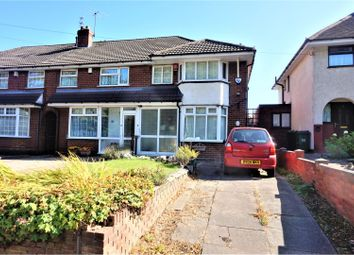 Thumbnail 3 bed semi-detached house for sale in Walsall Road, West Bromwich