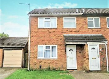 Thumbnail 3 bed semi-detached house to rent in Henley Close, Houghton Regis, Dunstable, Bedfordshire