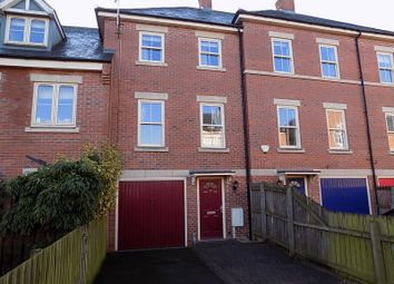 Thumbnail 3 bed town house for sale in Taylor Court, Ashbourne