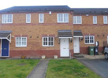 Thumbnail 2 bed town house to rent in Astbury Close, Turnberry Estate, Bloxwich, Bloxwich