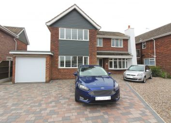 Thumbnail 4 bed detached house for sale in Yallop Avenue, Gorleston