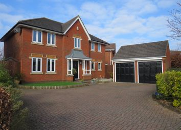 Thumbnail 4 bedroom detached house for sale in Battalion Drive, Wootton, Northampton