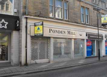 Thumbnail Retail premises to let in 34A Channel Street, Galashiels